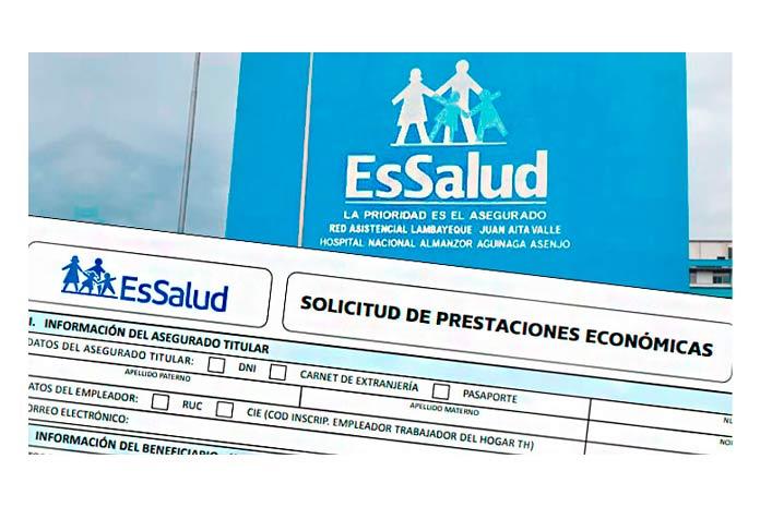 Subsidio por Sepelio de Essalud